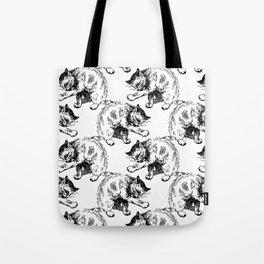 CAT CLEAN Tote Bag