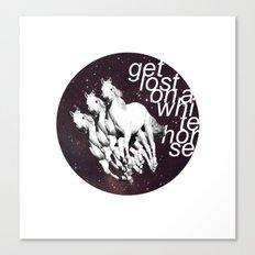 Get Lost... Canvas Print
