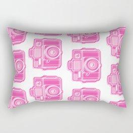I Still Shoot Film Holga Logo - Pink Rectangular Pillow