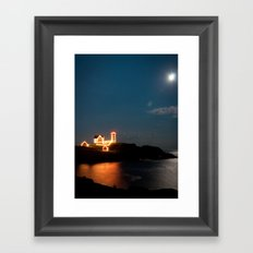Nubble Light Framed Art Print