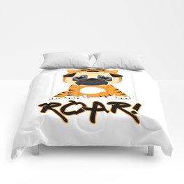 Pug Tiger Comforters