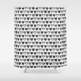 Cat Family Shower Curtain