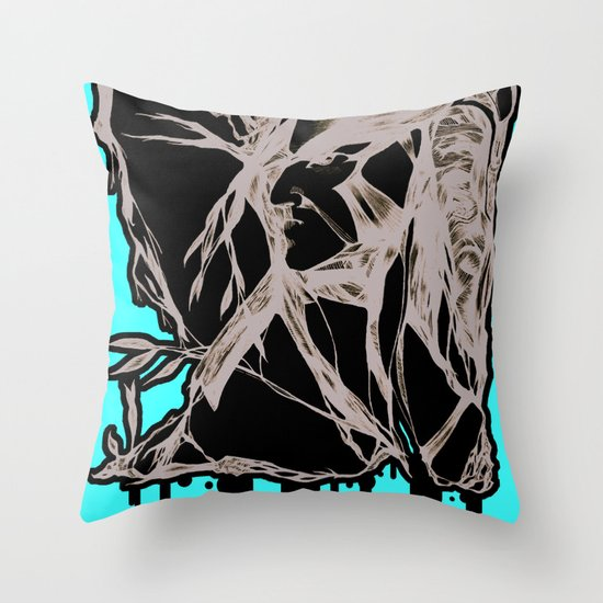 Horus Throw Pillow