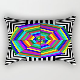 Be Bold, Be Dfferent and Stand Out Rectangular Pillow