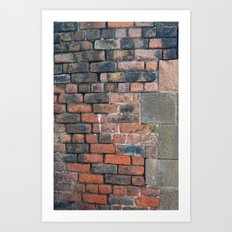 street brick Art Print
