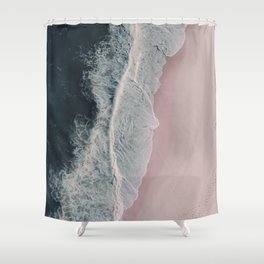 Sands of Cameo Pink Shower Curtain