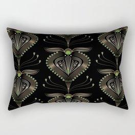 Art Deco . Aphrodite . Rectangular Pillow