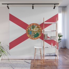 Florida State Flag Wall Mural