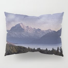 Mountains at Night Pillow Sham