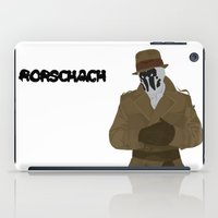 rorschach iPad Cases featuring Rorschach by Design Sparks