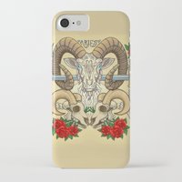 aries iPhone & iPod Cases featuring Aries by StudioBlueRoom