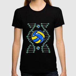 Volleyball DNA Veins Ball Team Sports Player T-shirt