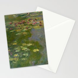 """Claude Monet """"Water Lilies"""" (15a) Stationery Cards"""