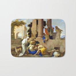 Andrea di Leone Tobit Burying the Dead Bath Mat