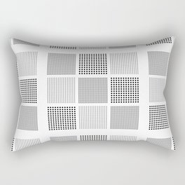 carreaux checked fabric  graphic Rectangular Pillow