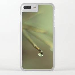 Droplets II Clear iPhone Case