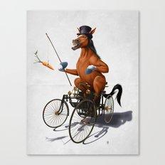 Horse Power (Wordless) Canvas Print