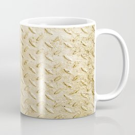 Gold Painted Metal Stylish Design Coffee Mug