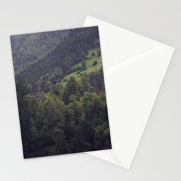 Swiss Mountain Forest Stationery Cards