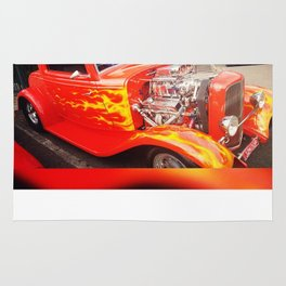 Ford Hot Rod 1932 Rug