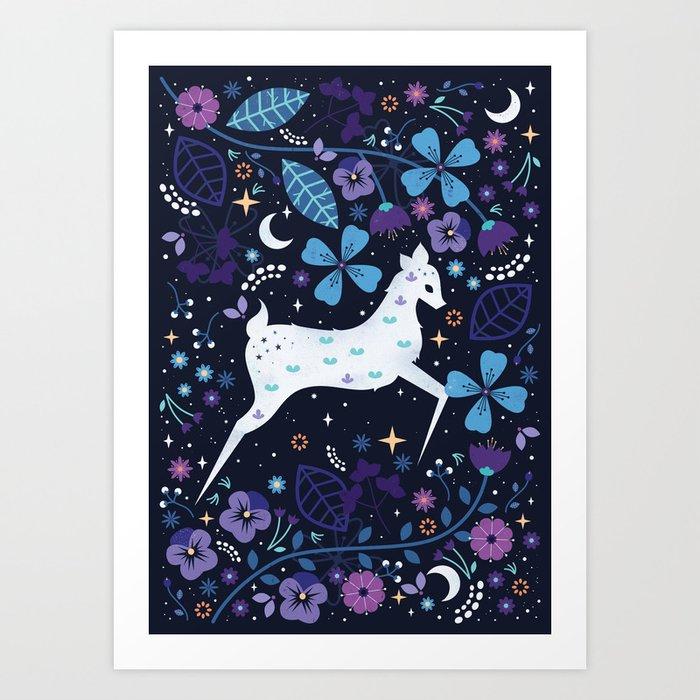 Spirit Deer Art Print