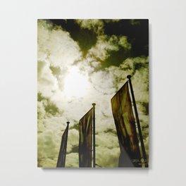 Feed me Clouds Metal Print