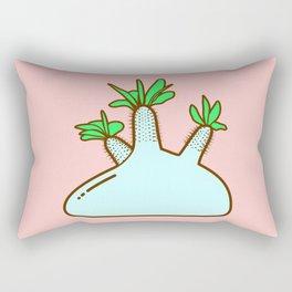 Pachypodium gracilius Plant Rectangular Pillow