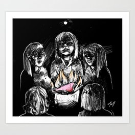 Teenage Witchcraft Art Print