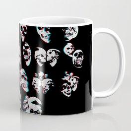 3D Skulls Coffee Mug