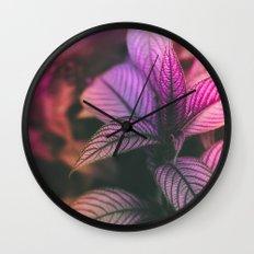 Violet Ladder Wall Clock