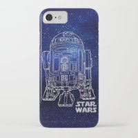 r2d2 iPhone & iPod Cases featuring r 2 d 2 by Vickn