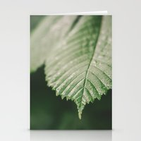 leaf Stationery Cards featuring Leaf by Errne