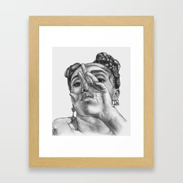 fka twigs 2 Framed Art Print
