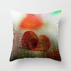 Rain, Rain, Rain, please go away! Throw Pillow