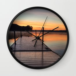 Off the Dock Wall Clock