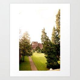 Fairy Tale Tower Art Print