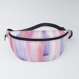 2  | 181203 Watercolour Patterns Abstract Art Fanny Pack