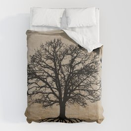 Tree of Life - Crow Tree Modern Farmhouse Decor A823 Comforters