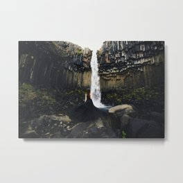 Spirit Like a Waterfall - Print Metal Print