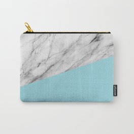 Marble and island paradise color Carry-All Pouch
