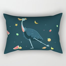 cassowary Rectangular Pillow