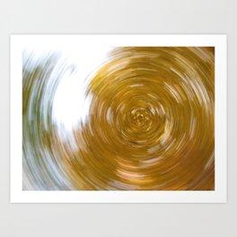 Canopy Kaleidoscope Art Print