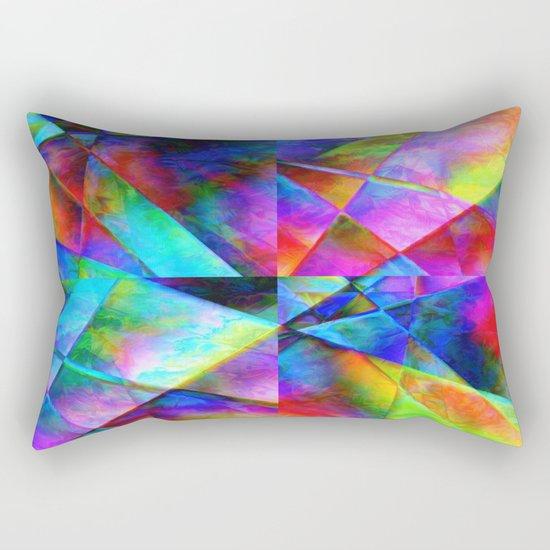 Сomposition geometrical Rectangular Pillow