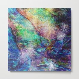 Mermaid Sea Ocean Shell Metal Print