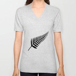 Silver Fern of New Zealand Unisex V-Neck