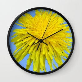 502 - Dandelion Wall Clock