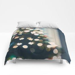Xmas Tree Lights Comforters