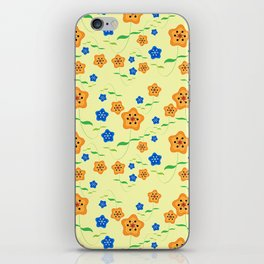Floral-007 iPhone Skin