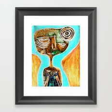 Devotee (inverted) Framed Art Print