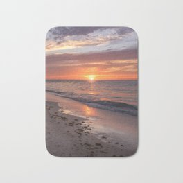 Sunset at Bean Point 2 Bath Mat